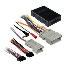 Aftermarket Radio Wire Harness Interface Retain OnStar & Chimes for Gm 2000-Up