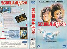 SCUOLA DI SESSO (1982) VHS