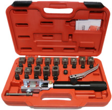 Hydraulic Double Flaring Tool Kit T&E Tools 7201