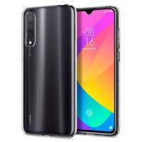 Xiaomi Mi 9 Lite Case | Spigen® [Liquid Crystal] Crystal Clear Slim Cover
