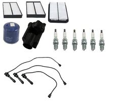 Tune Up Kit w/ Filters Wire Set & Spark Plugs Fits Hyundai Santa Fe 03-05 3.5