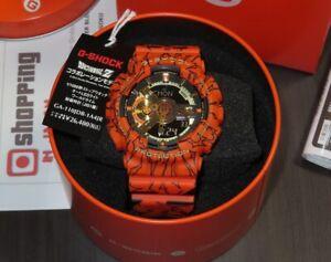 Casio G-Shock Dragon Ball Z GA-110JDB-1A4 51.2mm Case Orange/Black Resin...