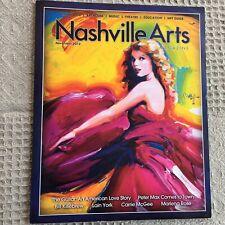 Nashville Arts Magazine Taylor Swift Speak Now Cover Art Peter Max November 2012