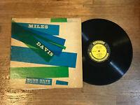 Miles Davis LP - Blue Haze - Prestige PRLP 7054 - 446 W. 50th St NYC RVG