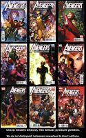 Avengers: The Children's Crusade 1 2 3 4 5 6 7 8 9 Set Run Lot 1-9 VF/NM