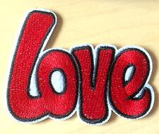 Love Aufnäher / Aufbügler patch Frieden No war Punk Peace Rockabilly heart Liebe