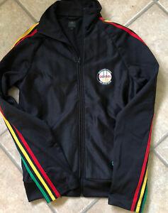 Rare Adidas Grubar Carlo Rasta Jamaica S  M Vtg track