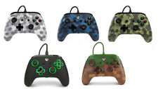 Oficialmente licenciado Xbox Wired Controller Pad de Juego Camo One Azul-Verde-Blanco