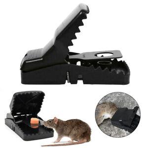 1-5pcs Heavy Duty Aggressive Rat Traps Self Setting Splatter Rats Beware Clip