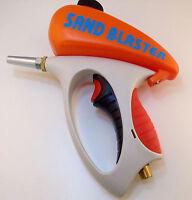 "Spot Sandblaster Gravity Feed Sand Blaster 1/4"" Air Inlet NTP"