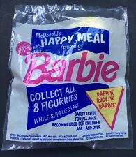 NEW, SEALED! 1991 McDonald's Happy Meal Rappin' Rockin' Barbie