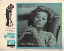 "Susan Hayward Stolen Hours Original 11x14"" Lobby Card #M8364"