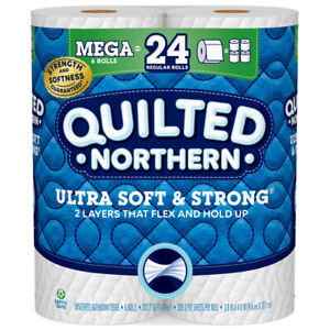 Quilted Northern Toilet Paper 6 roll 328 sheet (Pack of 6)