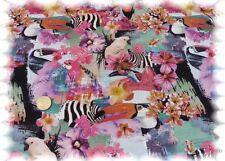 Paradise pink Stretch-Jersey Baumwolljersey Shirtstoff 50 cm
