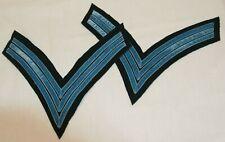 Civil War Federal Private Purchase Velvet Infantry Sergeant's Chevrons