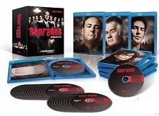 Sopranos HBO TV Series Blu Ray Complete Collection 1 2 3 4 5 6 [28 Discs] BoxSet