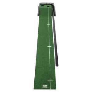 NEW Izzo Golf Dual Hole Practice Putting Ramp With Return Channel / Training Aid
