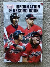 NEW Cleveland Indians 2020 Media Guide Francisco Lindor Shane Bieber