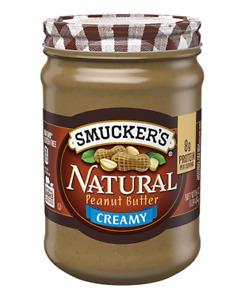 Smucker's Creamy Natural Peanut Butter