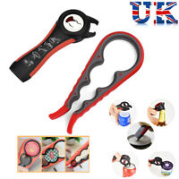 All In One Easiest Open Can Jar Tin Bottle Opener Cutter Camping Kitchen Tool