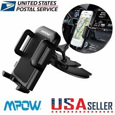 Mpow Universal 360° Rotating CD Slot Car Mount Holders Stands Magnetic for Phone