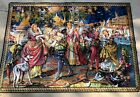 """Vintage Made in France Colorful Handwoven Tapestry 44""""x67"""""""