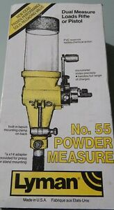 LYMAN No 55 Reloading Powder Measure.............. used!!!