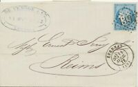 FRANCE 1871/6 9 different VF/superb covers 25 C Ceres all different NUMERALS