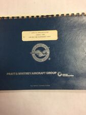 Pratt & Whitney JT9D-7Q Familiarization Airline Maintenance Group
