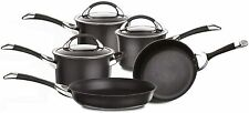 Circulon Symmetry Hard Anodised Non-Stick Induction 5 Piece Cookware Set, Black