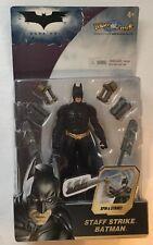 "BATMAN The Dark Knight STAFF STRIKE  5"" Action Figure Brand New 2007 NIP"