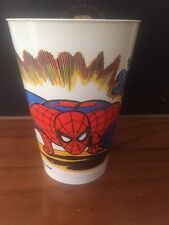 THE AMAZING SPIDER-MAN 1977 SERIES MARVEL 7-ELEVEN SLURPEE PLASTIC CUP 7-11