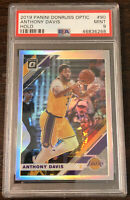 2019 Donruss Optic Anthony Davis Silver Holo Prizm PSA 9 Mint Lakers 🔥