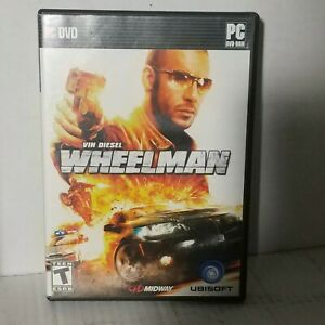 Wheelman: Vin Diesel- Midway - Ubisoft - PC - 2009 - Complete with map