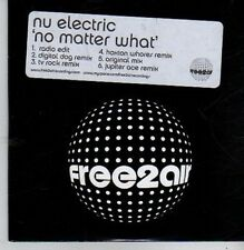(BZ910) Nu Electric, No Matter What - 2005 DJ CD