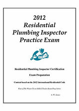 2012 ICC Residential Plbg Inspector Practice Exam on USB Flash Drive