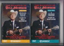 MANDOLIN OF BILL MONROE - 2 DVD LESSON SET *NEW*