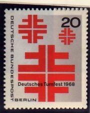 Alemania Berlin 1968 Atletismo Festival Sg b315 Mnh