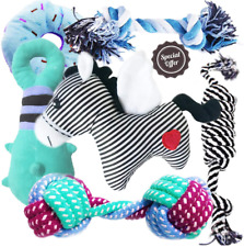 New listing Buibiiu Dog/Puppy Teething Toys, Assorted Chew Toys, 6 ct