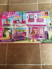 Mega Bloks Barbie: Build 'n Style Beach House Brand New