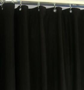 Backdrops, Bühnenmolton (B1), Bühnen-Vorhänge, 6 x 4 m, schwarz