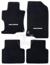 Floor Mats + ACCORD LOGO Fits HONDA ACCORD Sedan 2008 2009 2010 2011 2012