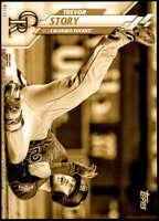 Trevor Story 2020 Topps Short Print Variations 5x7 Gold #637 /10 Rockies