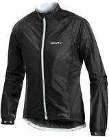 Craft Performance Rain Womens Cycling Jacket Black Packable Waterproof Bike Jkt