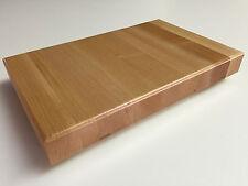 "18"" x 12"" x 1.5"" Maple Wood Butcher Block Cutting Board"