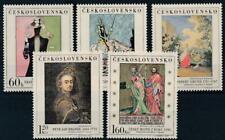 [16266] Czechoslovakia art painting good set very fine MNH stamps