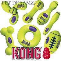 KONG AIR DOG PUPPY SQUEAKER FETCH RETRIEVAL TENNIS BALL STYLE TOYS