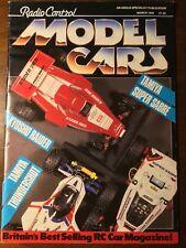 Vintage Radio Control Model Cars Magazine Mar 1988 Kyosho Raider Tamiya Super