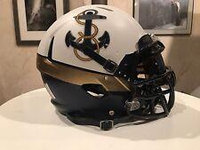 Navy Midshipmen Football Helmet Army Navy Rivalry - Nike Rivalry Pro Custom