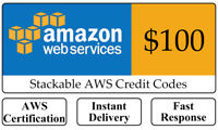 AWS $100 Amazon Web Services Lightsail EC2 PromoCode Credit Code Q1_1
